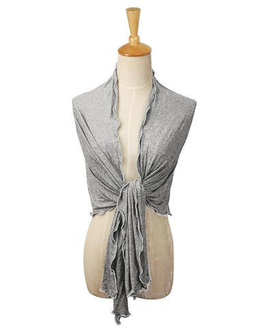 Pack n Fold Women's Portable Shawl Grey