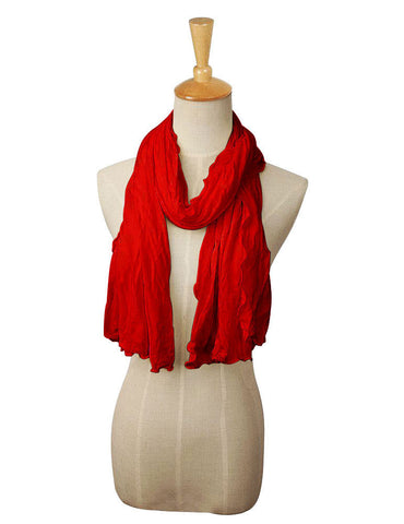 Pack n Fold Women's Portable Shawl Red