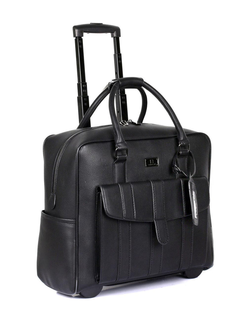 Travel Rolling Carry-on Luggage Black