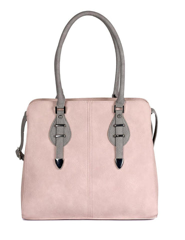 Shere Women's Shoulder Bag Pink Grey