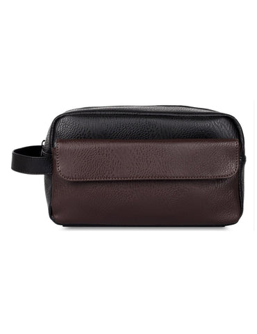 Men's Travel Toiletry Bag with Front Pocket