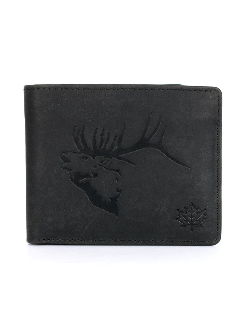 CANADA WILD? Men's Hunter Leather Wallet Elk Stag - karlahanson.com