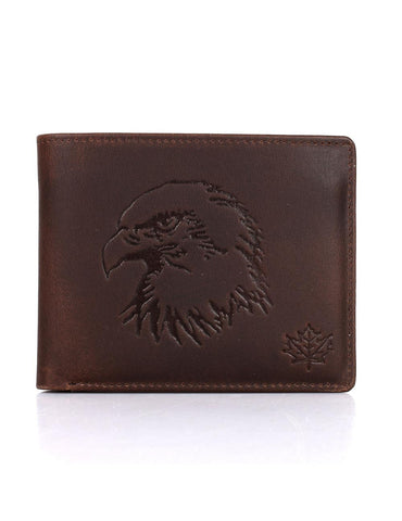 CANADA WILD? Men's Hunter Leather Wallet Eagle - karlahanson.com