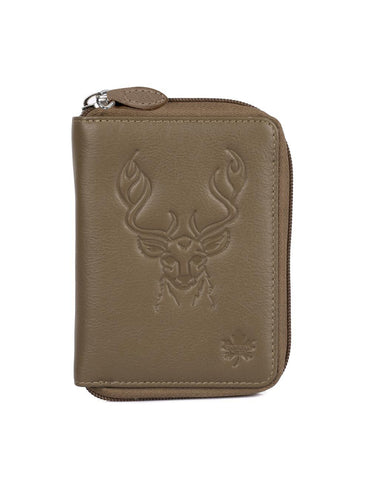 CANADA WILD  Women's Leather Wallet Deer