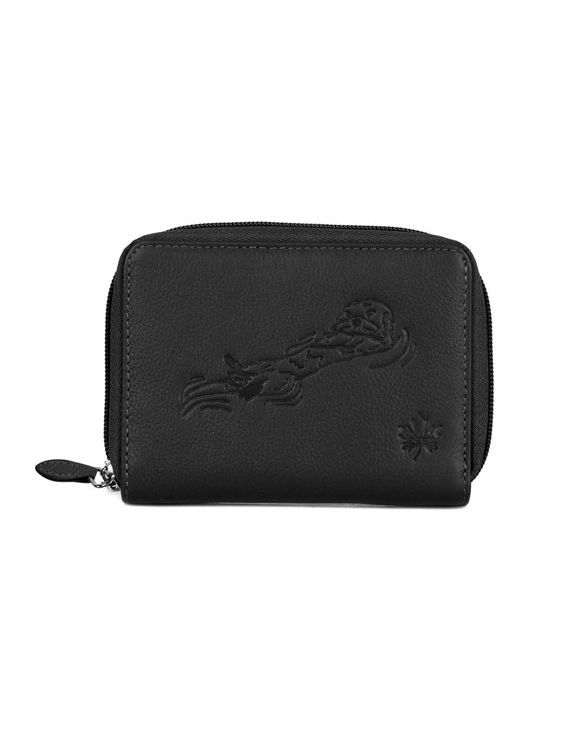 CANADA WILD  Women's Leather Wallet Sea Otter