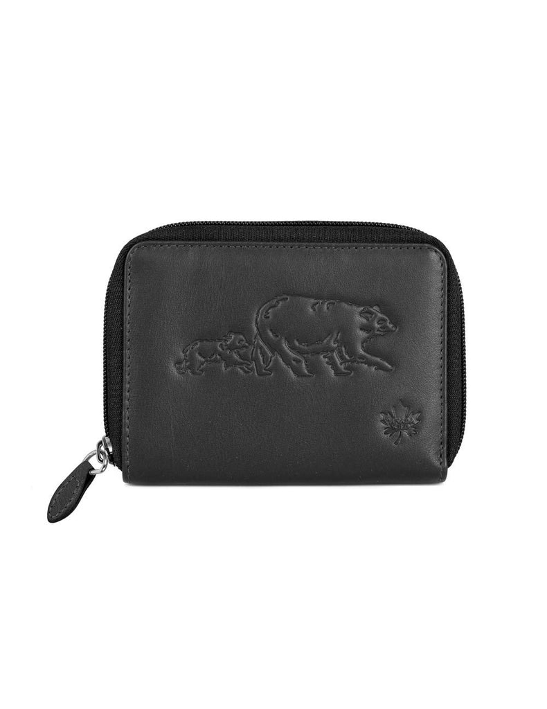 CANADA WILD  Women's Leather Wallet Bear and Bub