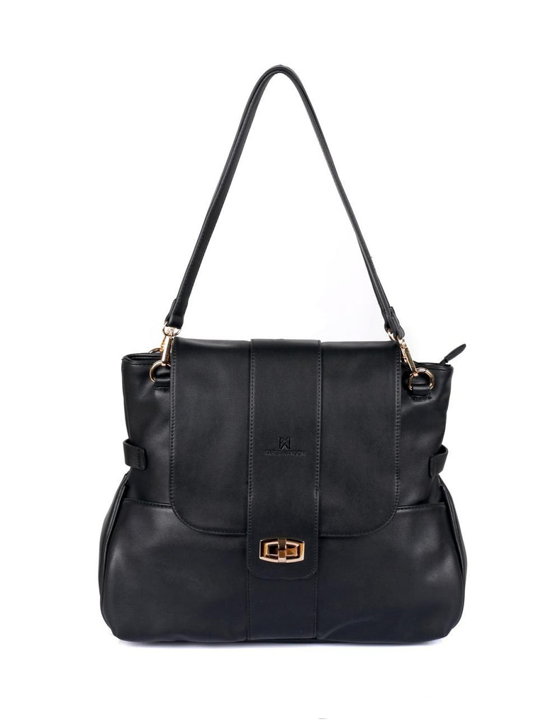 Isabella Women's Shoulder Bag Black