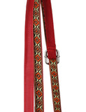 Isabella Women's Gypsy Crossbody Saddle Bag II Burnt Red