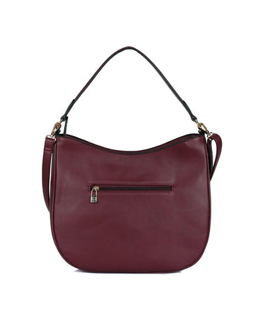 Isabella Women's Hobo Bag Plum