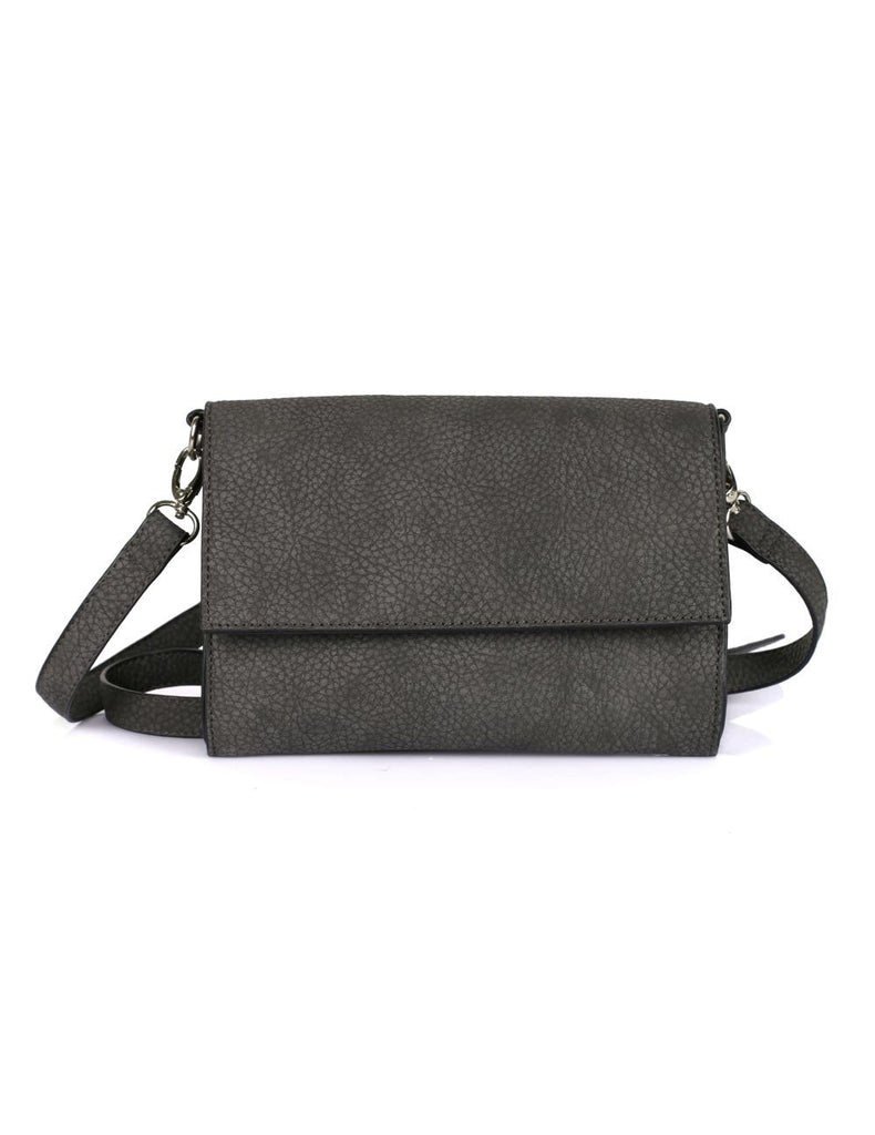 Madison Women's Compact Crossbody Bag Grey
