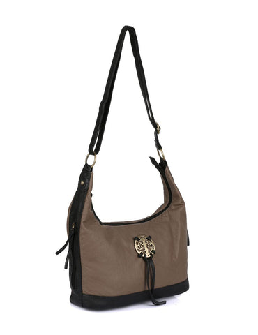 Avery Pre-Washed Women's Hobo Bag Taupe