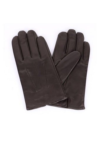 Men's Deluxe Leather Touch Screen Gloves