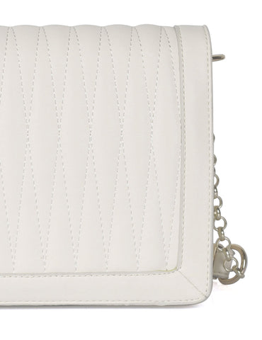 Claire Women's Crossbody Bag Ivory