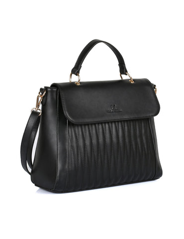 Claire Women's Satchel Bag Black