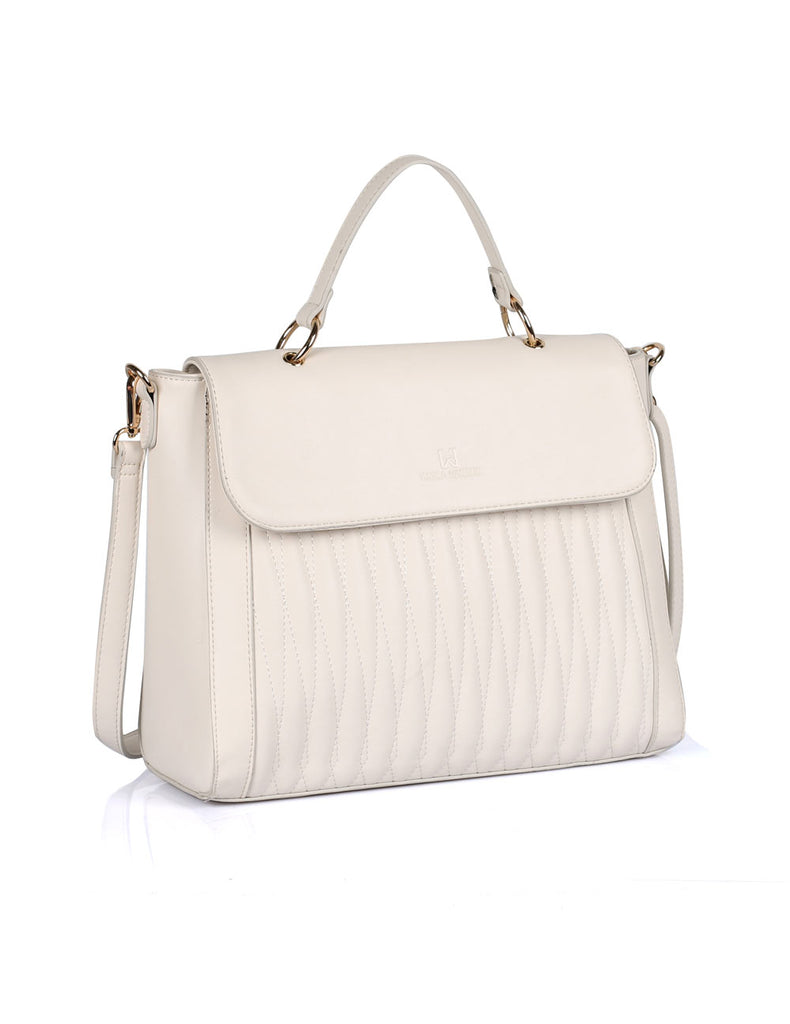 Claire Women's Satchel Bag Ivory