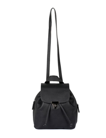 Hailey Women's 2 in 1 Backpack & Crossbody Bag Black