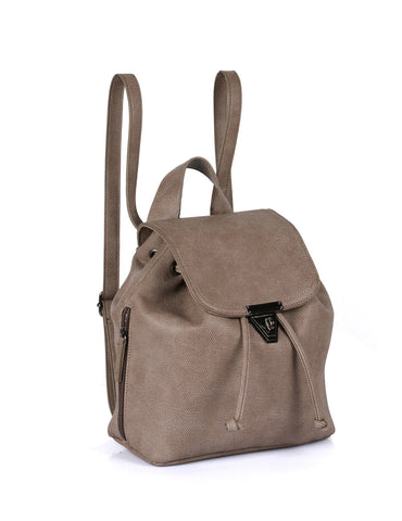 Hailey Women's 2 in 1 Backpack & Crossbody Bag Taupe