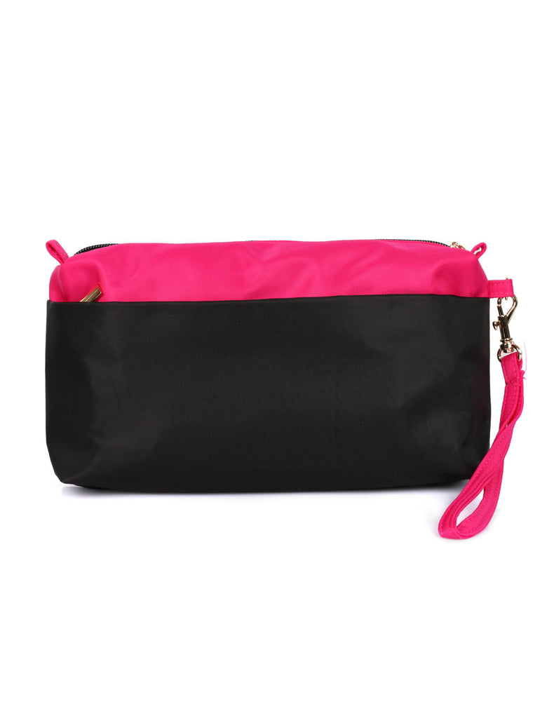 RFID Organizer Swap Bag Pink Black