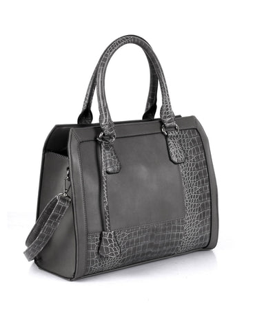 Elsie Women's Satchel Bag Grey