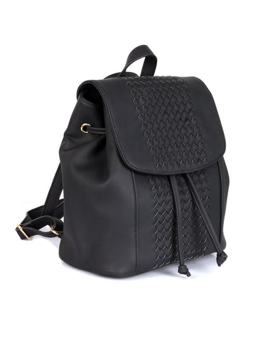 Matilda Women's Convertible Backpack & Crossbody Bag Black
