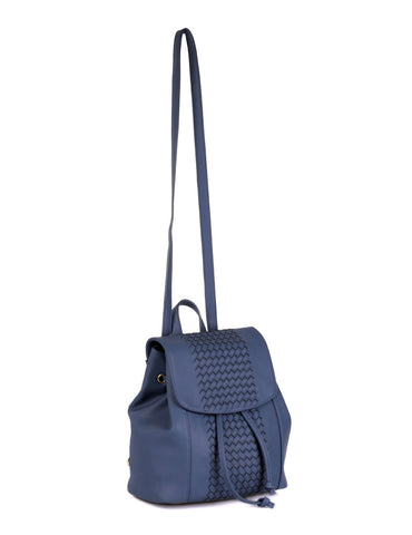 Matilda Women's Convertible Backpack & Crossbody Bag Blue