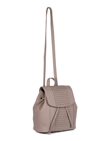 Matilda Women's Convertible Backpack & Crossbody Bag Taupe