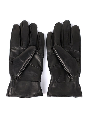 Women's Genuine Leather Touch Screen Gloves with Tab
