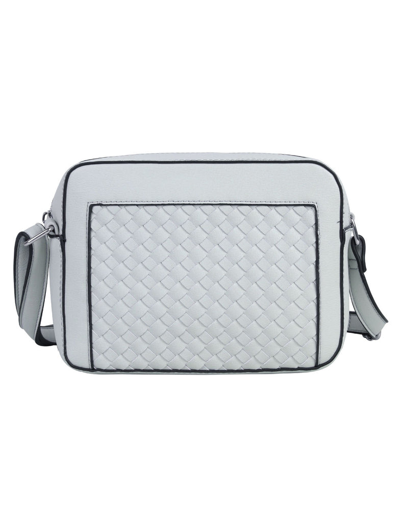 Tanya RFID Blocking Women's Crossbody Camera Bag Grey