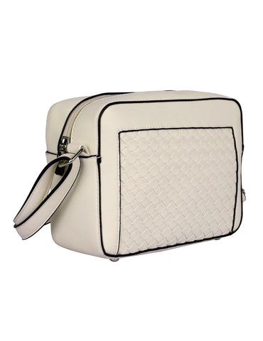 Tanya RFID Blocking Women's Crossbody Camera Bag Beige