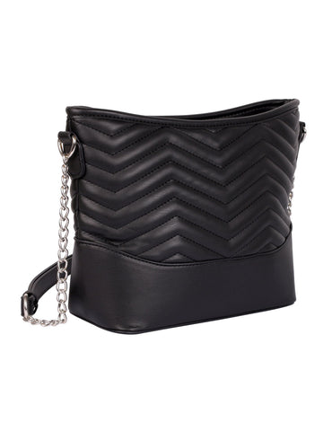 Sabrina RFID Blocking Women's Crossbody Bag Black