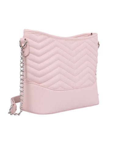 Sabrina RFID Blocking Women's Crossbody Bag Pink