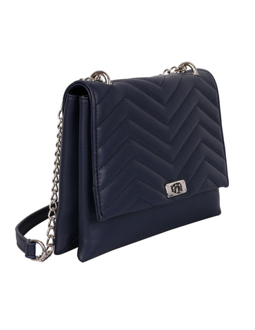 Sabrina RFID Blocking Women's Clutch Bag Navy