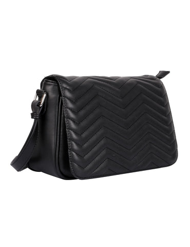 Sabrina RFID Blocking Women's Saddle Bag Black
