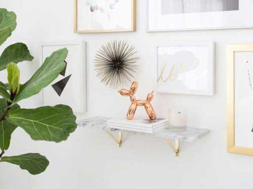 balloon dog tabletop sculpture decor