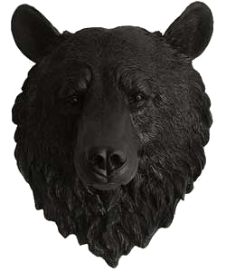 Bear Head Wall Mount