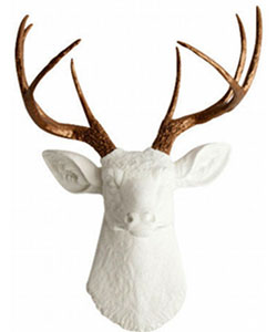 Large Deer Head Wall Mount