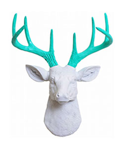 Mini Deer Head Wall Mount