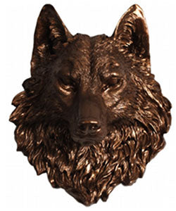 Wolf Head Wall Decor