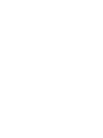 Inserting antlers into deer head, side view