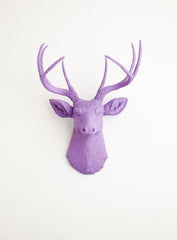Lavender purple wall decor deer, The Emma