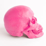 The Fitz in Pink | Trendy Victorian Gothic Human Skull Art