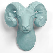 The Darby in Powder - XL Ram Head | Bighorn Sheep Modern Farmhouse Decor