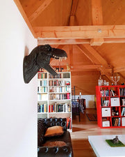 The Bronson in Coral | Modern T-Rex Decor, Dinosaur Art