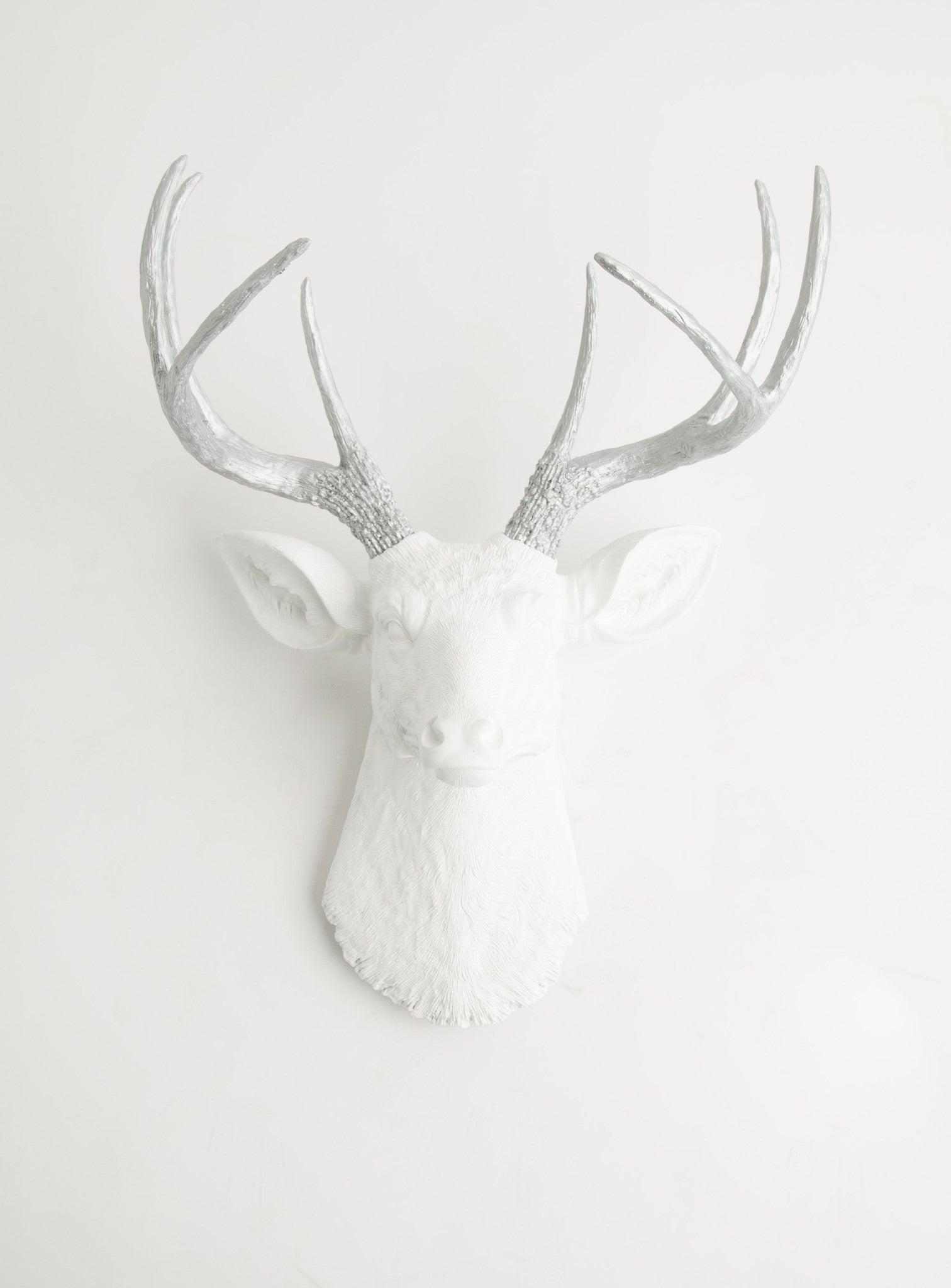 white & silver wall decor, The Frankfurt deer