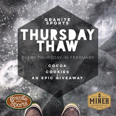 THURSDAY THAW IN THE STORE - EVERY THURSDAY IN MARCH!