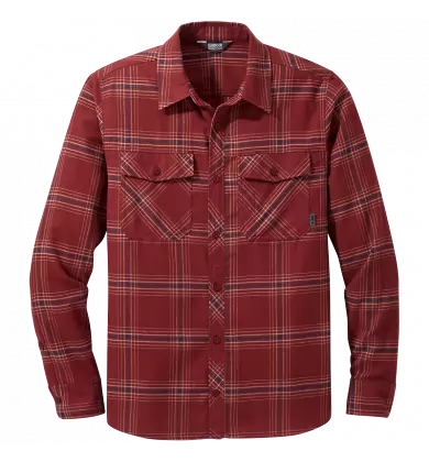 Outdoor Research Men's Sandpoint Flannel Shirt