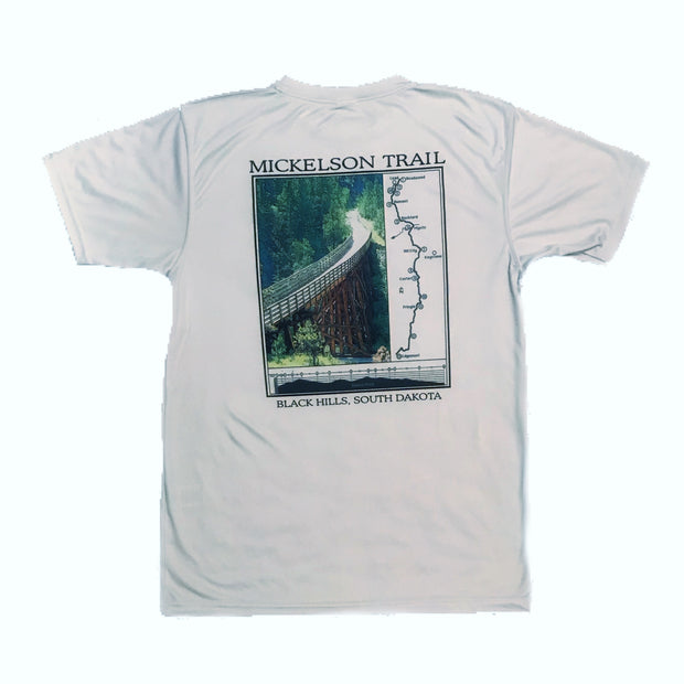 Granite Sports Men's Short-Sleeved Mickelson Trail Tech Tee