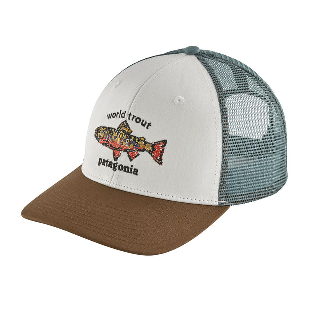 Patagonia World Trout Brook Fishstitch Trucker Hat