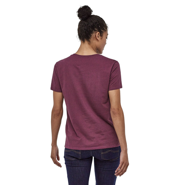 Patagonia Women's Fitz Roy Bison Organic Cotton Crew T-Shirt