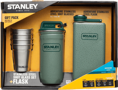 Stanley Adventure Steel Shots + Flask | Gift Set